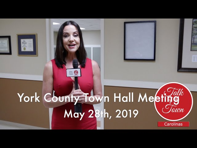York County SC Town Hall Meetings 2019
