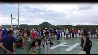 Cách vận hành đưa tàu khổng lồ qua kênh đào Panama