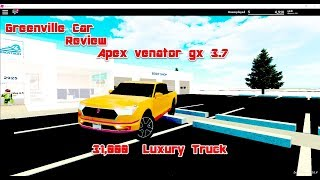 2018 APEX VENATOR GX 3.7 GREENVILLE CAR REVIEW
