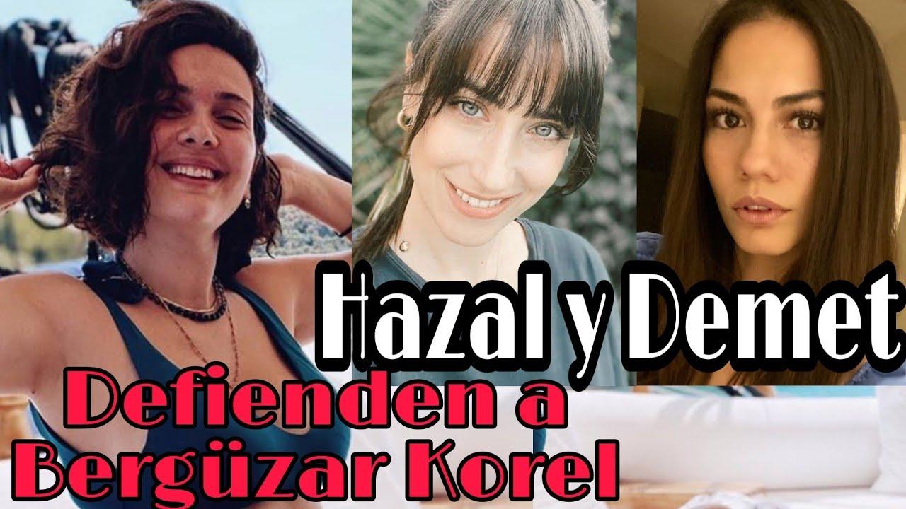 Demet Özdemir y Hazal Kaya apoyan a Bergüzar Korel #demetozdemir #hazalkaya #berguzarkorel