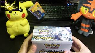 Pokemon Sun and Moon Lost Thunder Booster Box Opening Part 1