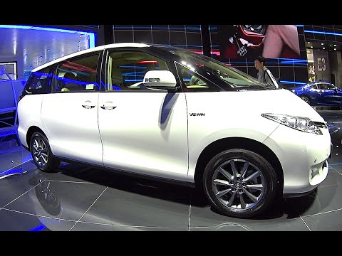 2016, 2017 Toyota Previa Estima VAN, Redesigned Toyota Previa 2016, 2017 launched On The Beijing