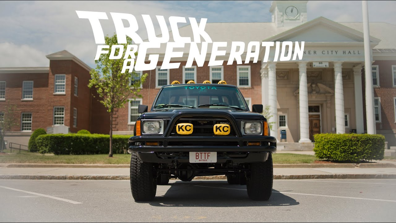 Marty Mcfly Truck >> 1985 Toyota Sr5 Xtra Cab Marty S Truck In Back To The Future