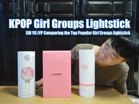 KPOP LightStick SM YG JYP Comparing the Top Popular Girl Groups lightstick