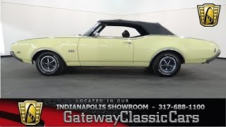 1969 Oldsmobile 442 Convertible - Gateway Classic Cars Indianapolis - #520 NDY