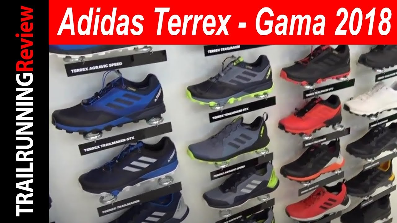 c94ebe40aee6 Adidas Terrex - Gama zapatillas 2018 - YouTube