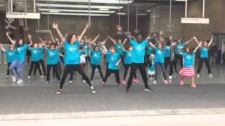 Fragile X Awareness Flash mob 2015