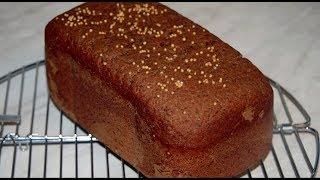 Хлеб ржаной бородинский в хлебопечке