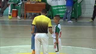 Eliminatorias baby fútbol de salón   Creafam Granada VS El Peñol