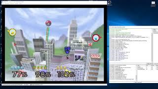 Super Smash Bros. Justase Vs. aaaaaaaaaaa Vs. Cory (N64 kaillera netplay) #3