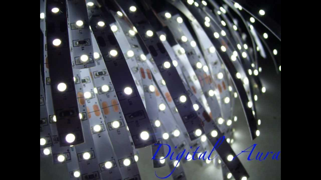 led lighting by led strip fxcom 12 volt led strip youtube