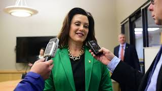 Gov. Whitmer answers questions on bipartisan budget, infrastructure, education