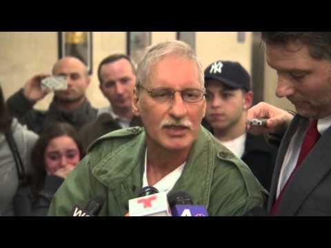 Raw: Judge Frees Man Convicted of Killing Rabbi