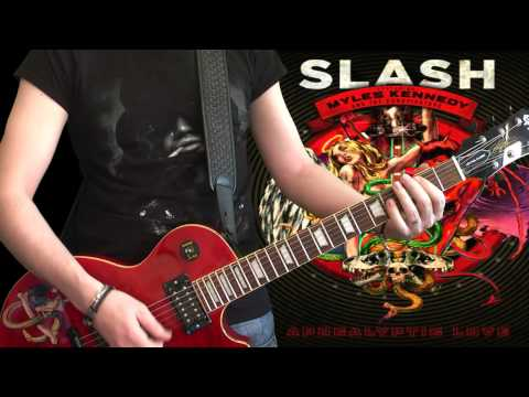 Slash & Myles Kennedy – Standing In The Sun (full guitar cover)