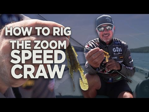 Three Ways to Rig a Zoom Speed Craw With Randall Tharp | Major League Lessons