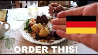 German food is BETTER than you think! (Leipzig Vlog)
