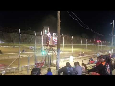 Darren Alvey Takes The Checked Flag At Potomac Speedway!! 4/13/18