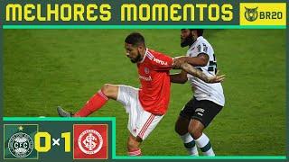 CORITIBA 0 x 1 INTERNACIONAL - Melhores Momentos - Brasileirão 2020 (08/08)