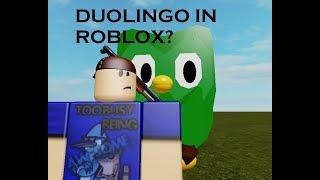 DUOLINGO EN ROBLOX?!