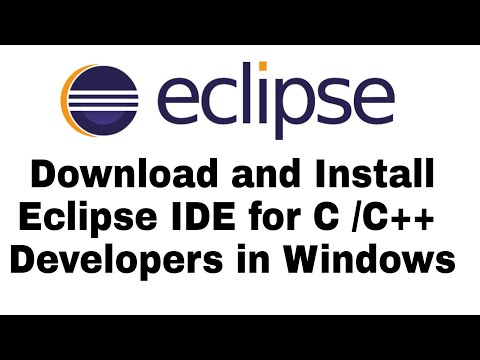 How To Download And Run (Install) Eclipse IDE For C/C++ Developer In Hindi