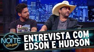 The Noite (29/10/15) - Entrevista com Edson e Hudson