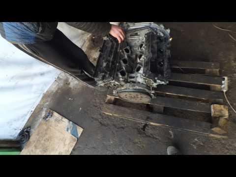 стружка в поддоне двигатель Nissan Murano VQ 35DE
