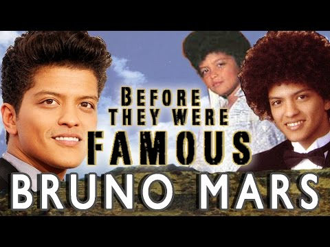 BRUNO MARS - Before They Were Famous
