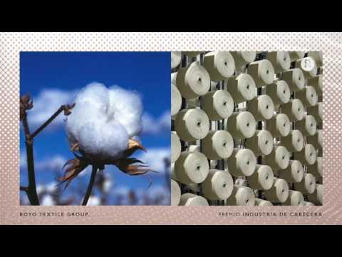 Ganador Premio Moda 2015 Industria Royo Textile Group