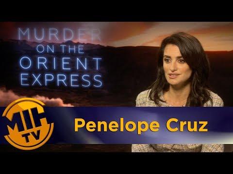 Penelope Cruz: Murder on the Orient Express Interview