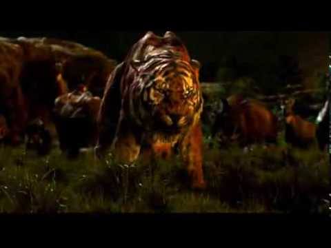 The Jungle Book (2016) Shere Khan VS Baloo Clip in (HD)