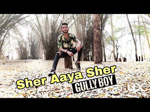 Sher Aaya Sher | Gully Boy | DIVINE | Harsh | Vipin Sharma Choreography | Unique Dance  Crew