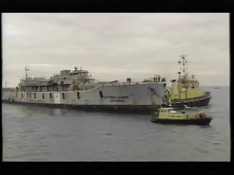 The scuttling of HMS Scylla