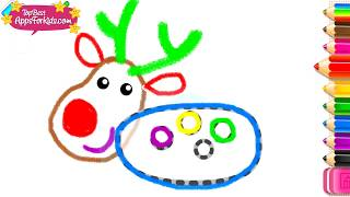 Kids Learn To Draw Christmas Drawings - Free Drawing App
