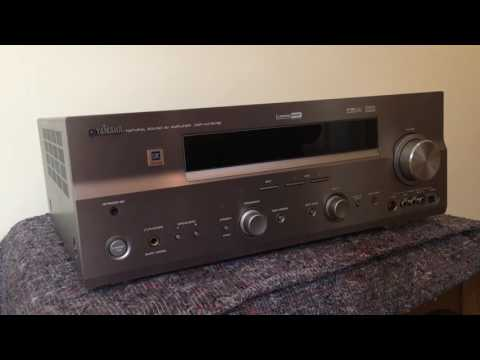 How to reset the Yamaha DSP AX-757SE  Receiver amplifier