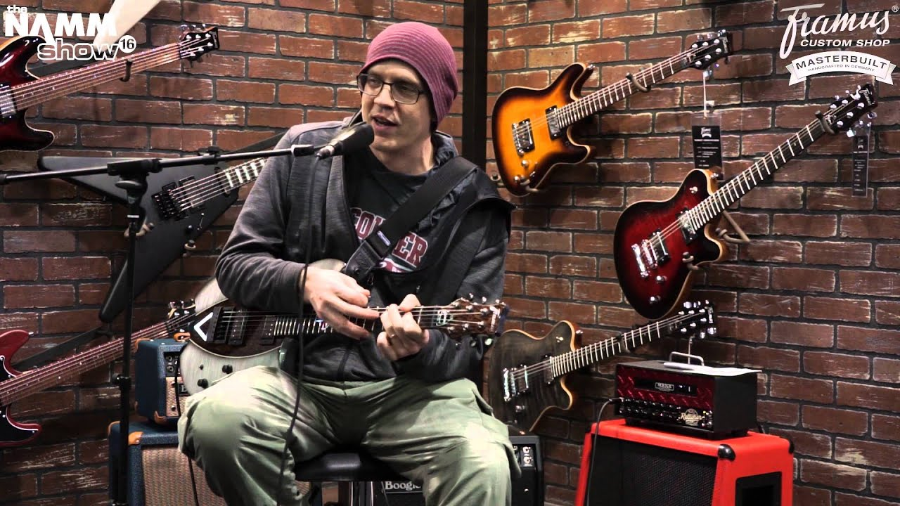 framus custom shop masterbuilt devin townsend signature with devin townsend youtube. Black Bedroom Furniture Sets. Home Design Ideas