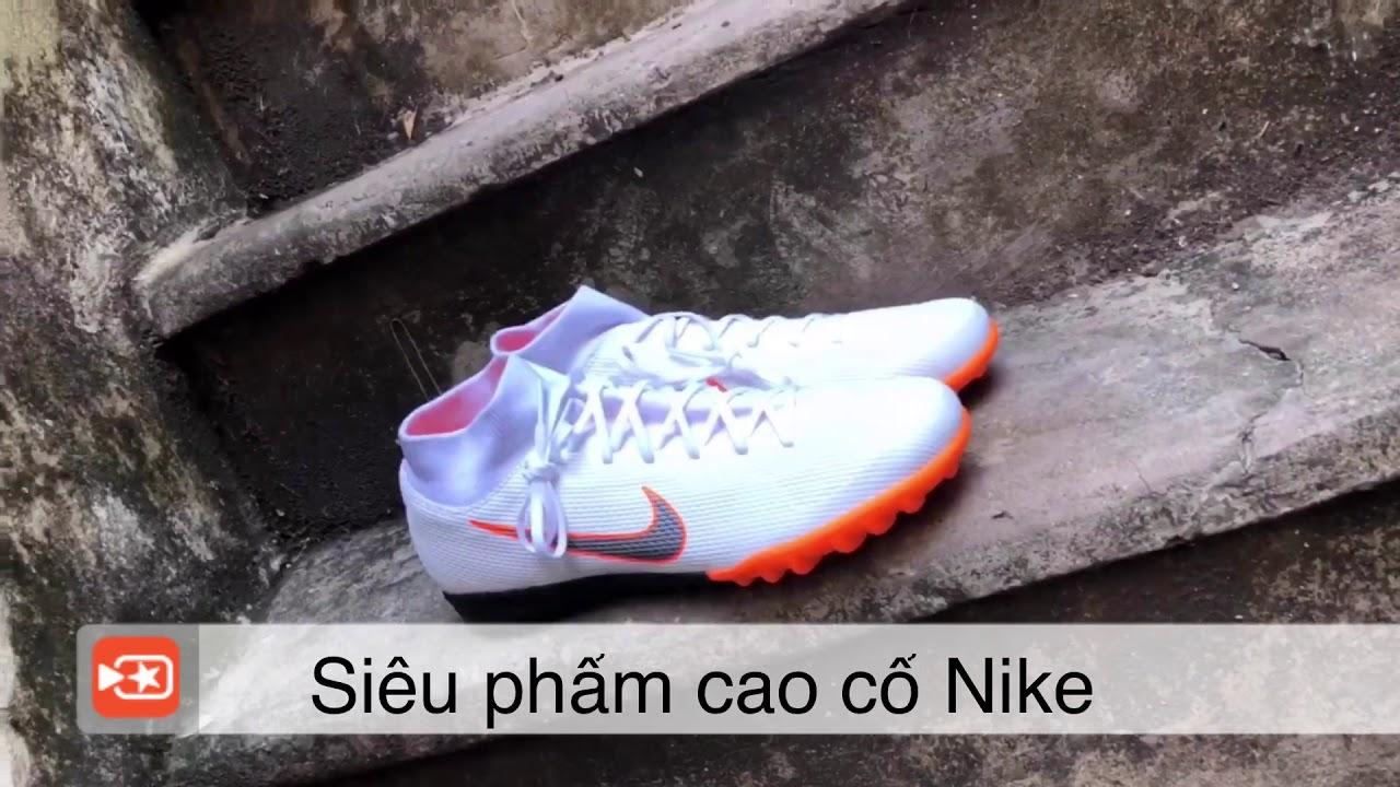 9870449645ce Nike Mercurial SuperflyX VI Academy TF- White  Metallic Cool Grey  Total  Orange AH7370-107