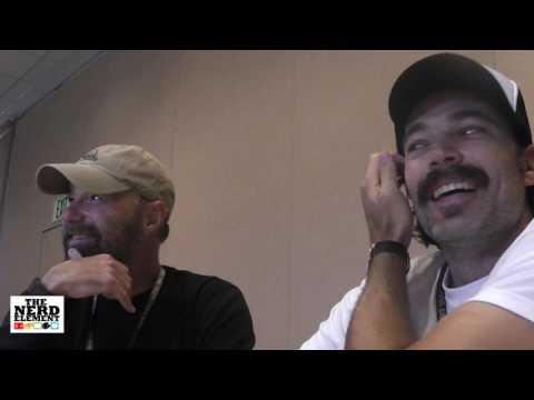 SDCC 2016 Wynonna Earp Tim Rozon and Beau Smith