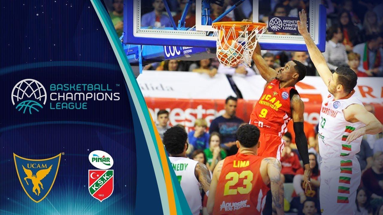 UCAM Murcia v Pinar Karsiyaka - Highlights - Quarter-Finals - Basketball Champions League 2017