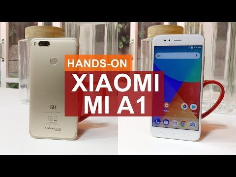 Xiaomi Mi A1 Hands on Review - Stock Android