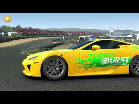 ☆Real Racing 3 | Lexus LFA Fully Upgraded | Nvidia Android TV | 1080p 60fps☆