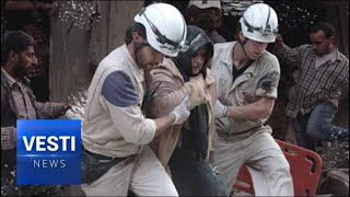 Dress Rehearsal! White Helmets Begin Practice Runs For Next False Flag Chemical Attack