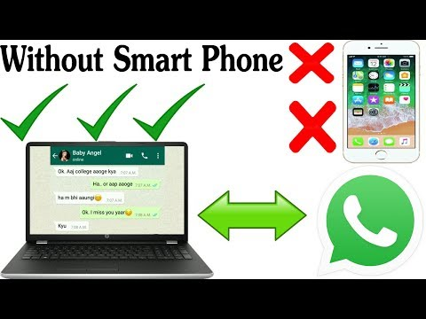 How To Install Whatsapp On Pc Computer Urdu Hindi | Without Phone|Witout Android Mobile