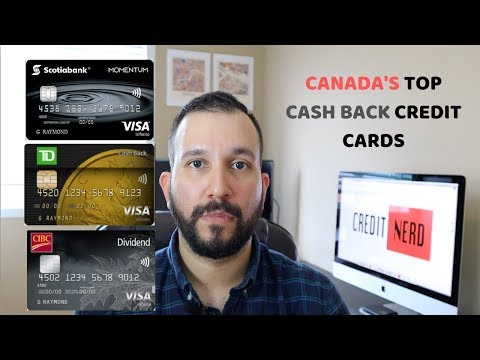 Top 3 Cash Back Credit Cards In Canada!