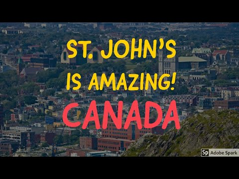 St. John's, Newfoundland and Labrador | Canada | The Big Saw Vlogs