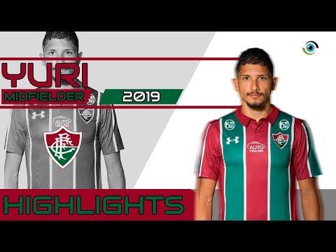 Yuri - Volante/Defensive Midfielder - Fluminense - 2019