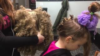 Wig Tutorial - Irish Dance