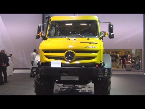 Mercedes-Benz Unimog U 5023 4x4 (2017) Exterior and Interior in 3D