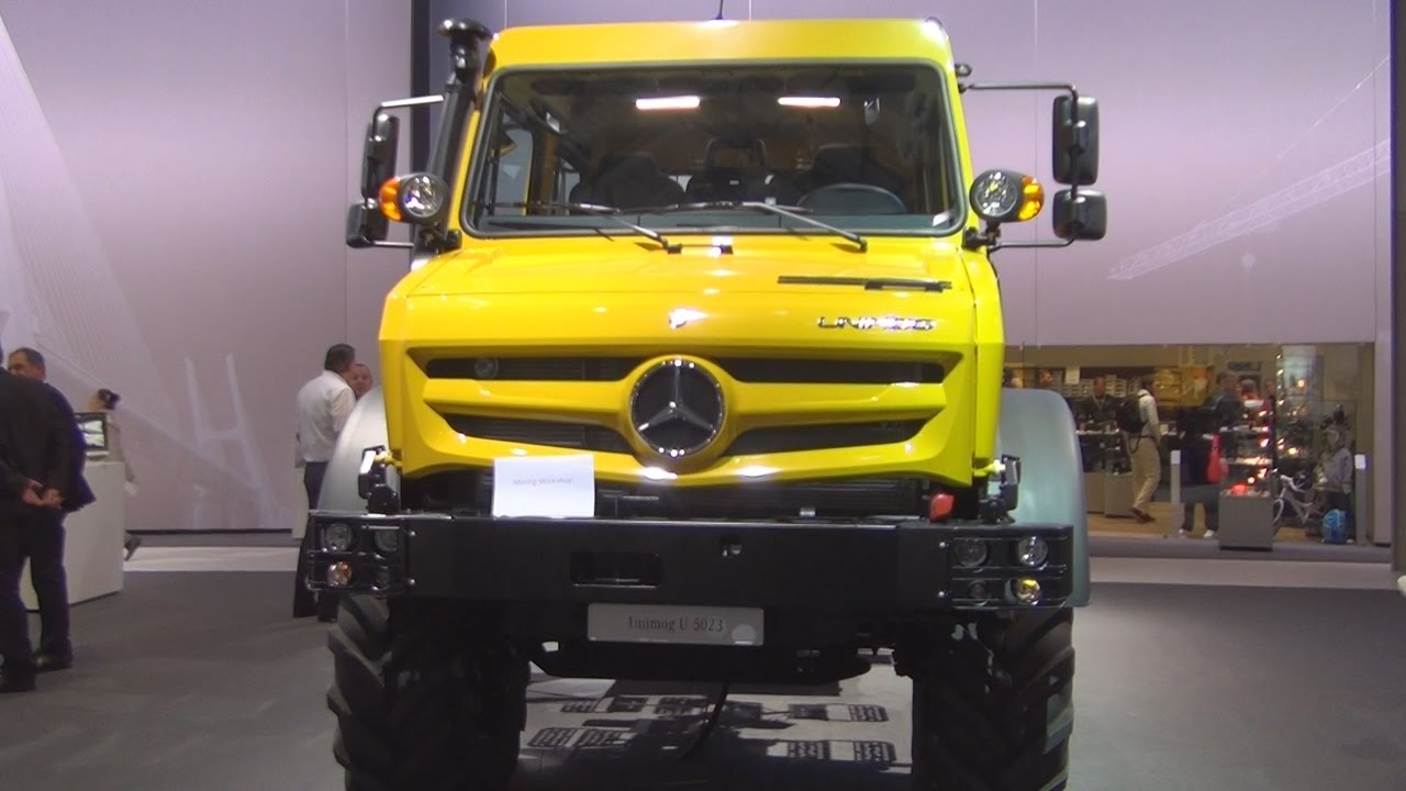 Mercedes Benz Rv >> Mercedes-Benz Unimog U 5023 4x4 (2017) Exterior and Interior in 3D - YouTube