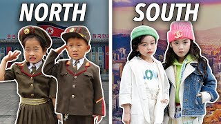 Life in North Korea vs South Korea: 16 Major Differences in 13 Minutes