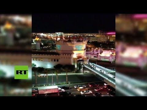 Testigo Graba El Momento Del Tiroteo En Las Vegas